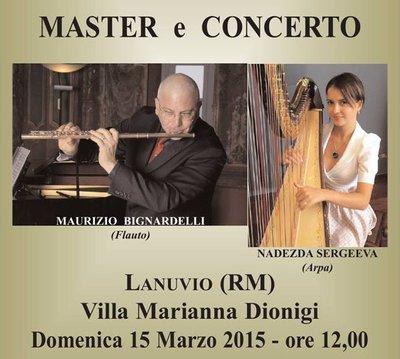 Lanuvio: masterclass e concerto con Nadezda Sergeeva al Villino Dionigi